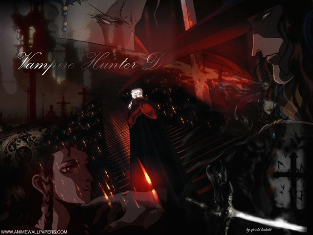 Vampire Hunter D Anime Wallpaper #1