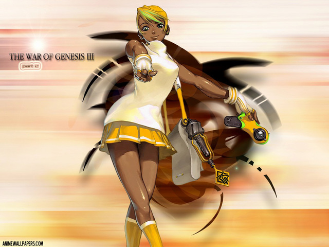 War of Genesis III Anime Wallpaper #19