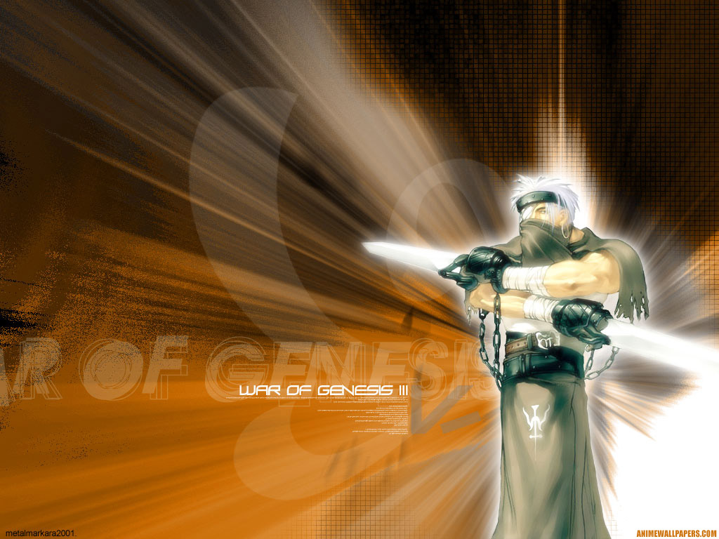 War of Genesis III Anime Wallpaper # 24
