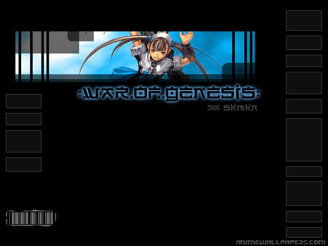War of Genesis III Anime Wallpaper #33