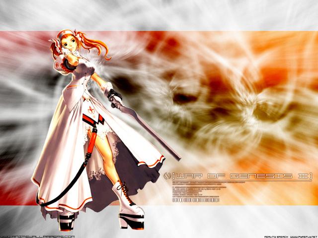 War of Genesis III Anime Wallpaper #42
