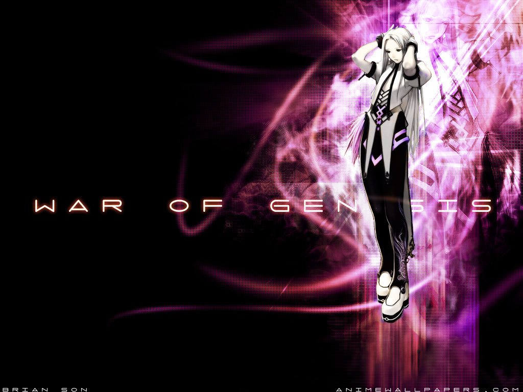 War of Genesis III Anime Wallpaper # 59