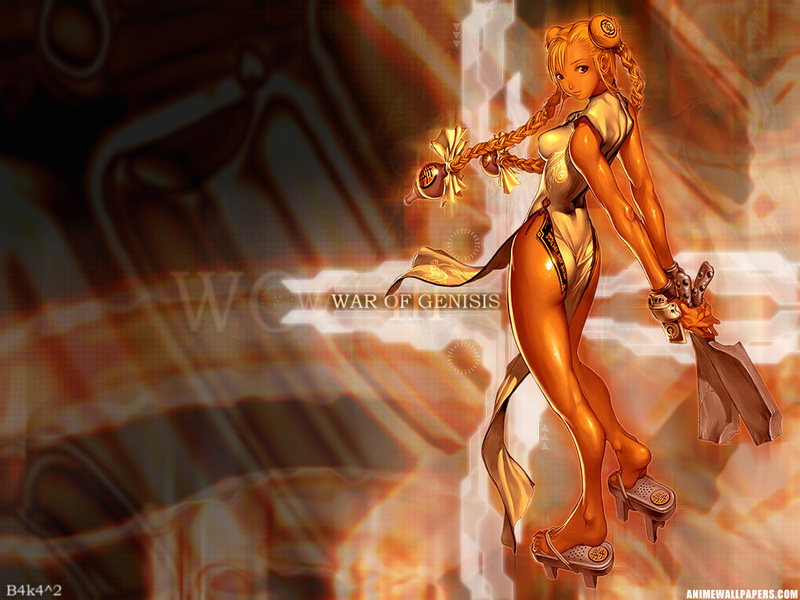 War of Genesis III Anime Wallpaper # 5