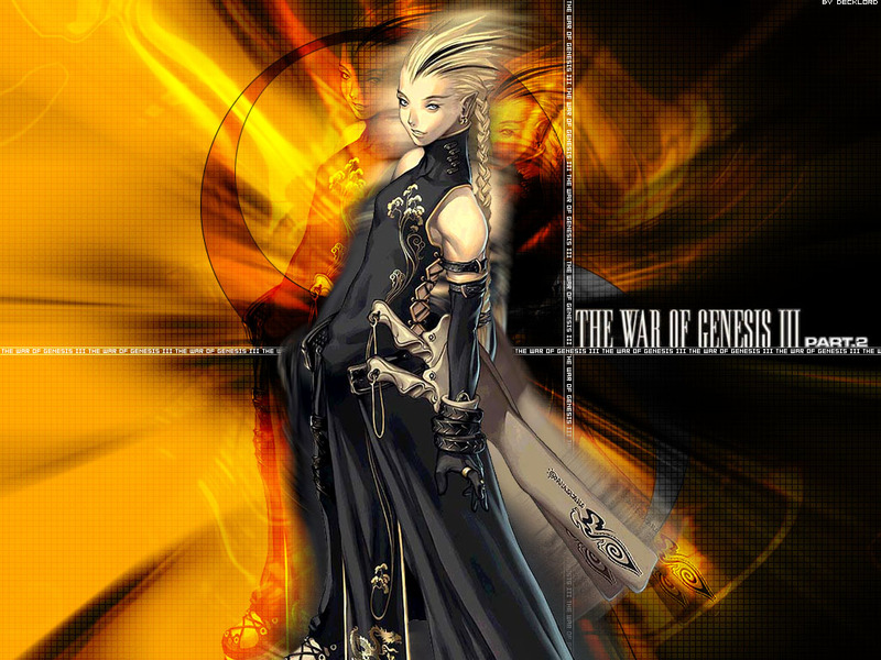 War of Genesis III Anime Wallpaper # 9