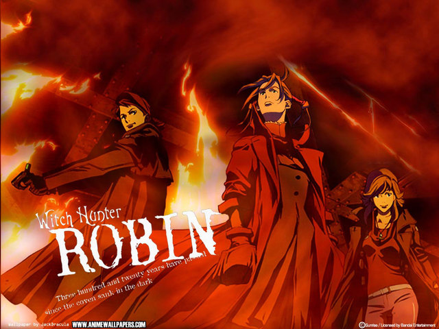 Witch Hunter Robin Anime Wallpaper #2