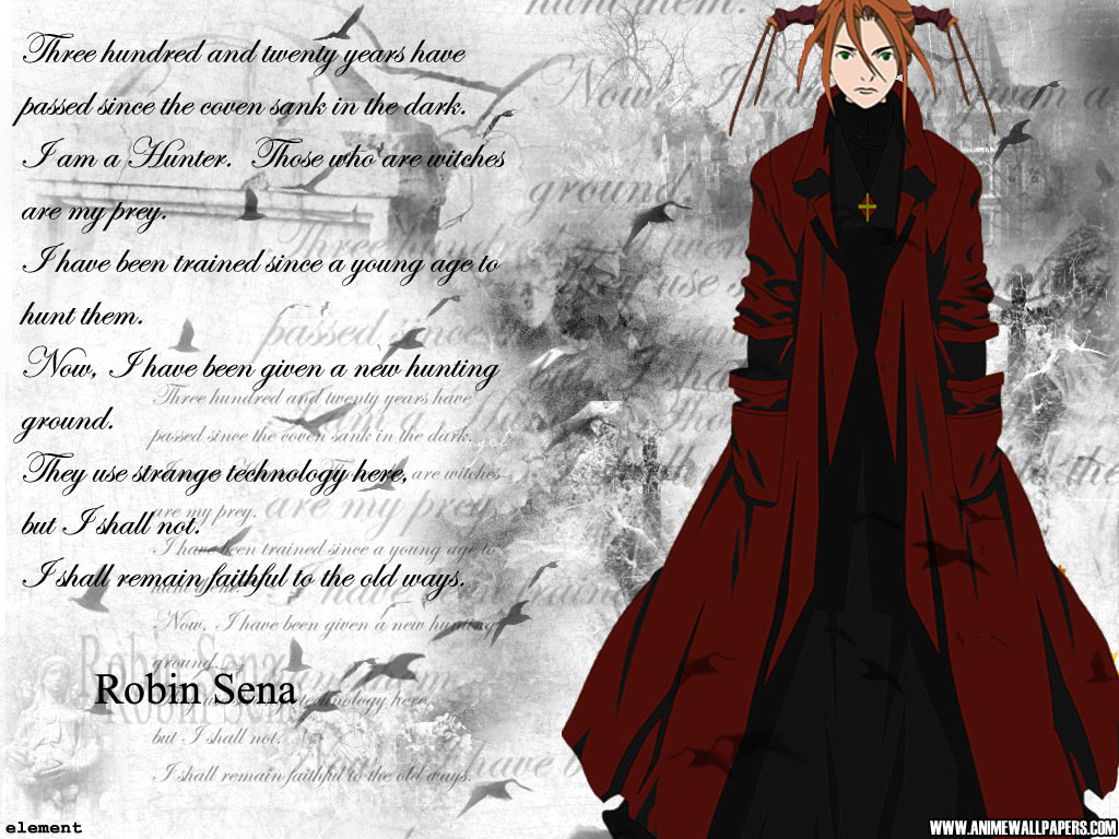 Witch Hunter Robin Anime Wallpaper # 3