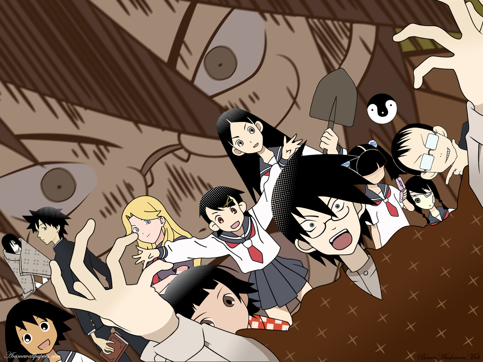 Sayonara Zetsubou Sensei Anime Wallpaper # 1
