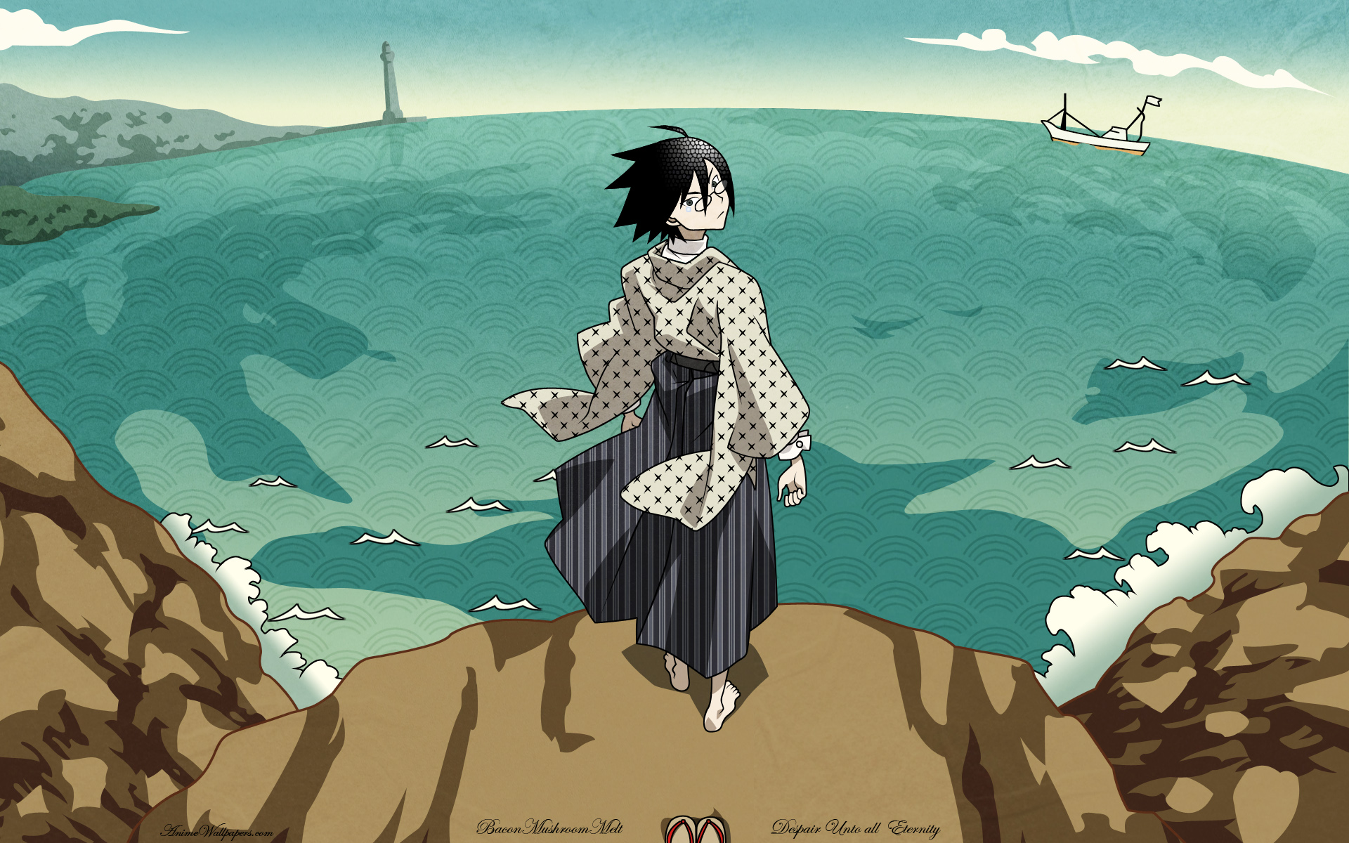 Sayonara Zetsubou Sensei Anime Wallpaper # 2