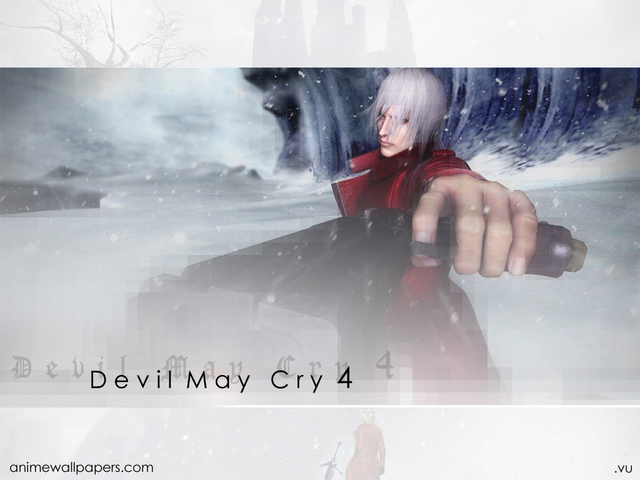 Devil May Cry 4 Anime Wallpaper #1
