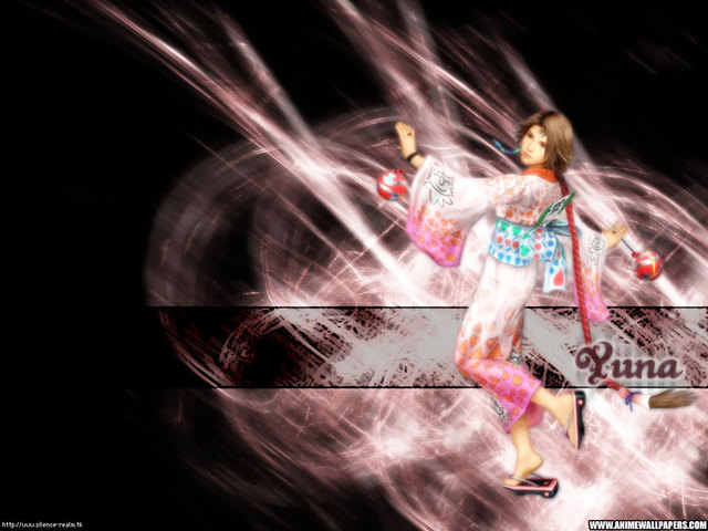 Final Fantasy X2 Anime Wallpaper #17