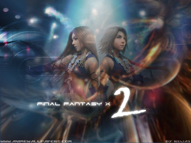 Final Fantasy X2 Anime Wallpaper #3