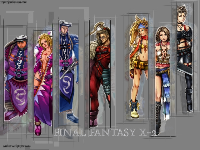 Final Fantasy X2 Anime Wallpaper #5