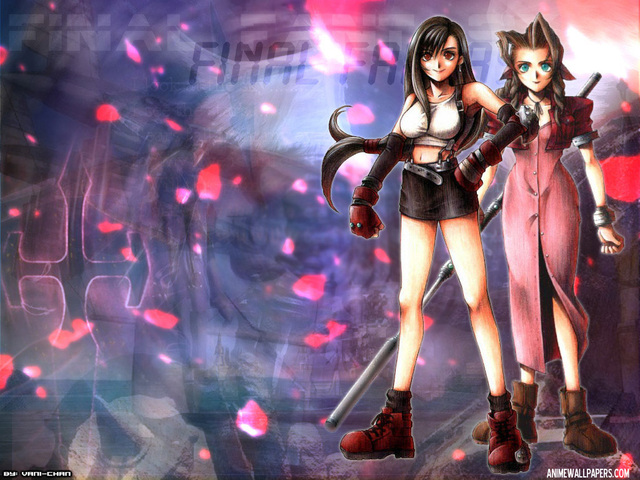 Final Fantasy VII Anime Wallpaper #13