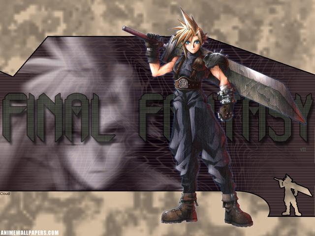 Final Fantasy VII Anime Wallpaper #19