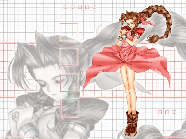 Final Fantasy VII Anime Wallpaper #20