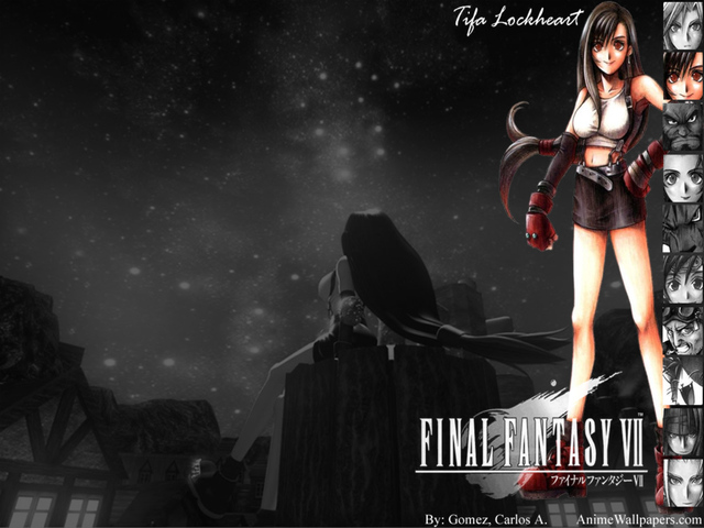Final Fantasy VII Anime Wallpaper #26