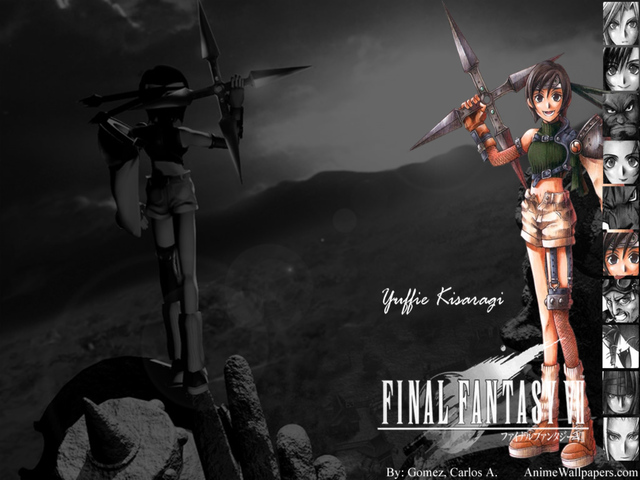 Final Fantasy VII Anime Wallpaper #28