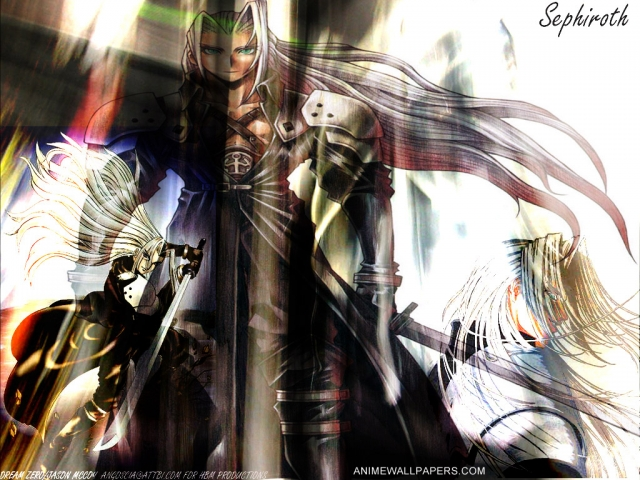 Final Fantasy VII Anime Wallpaper #7