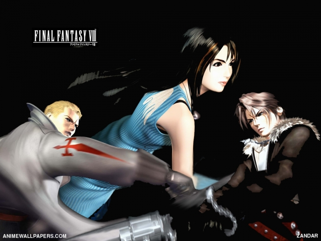 Final Fantasy VIII Anime Wallpaper #2