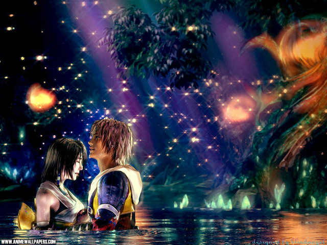 Final Fantasy X Anime Wallpaper #2