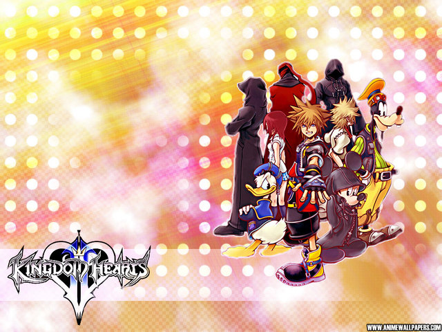Kingdom Hearts 2 Anime Wallpaper #2