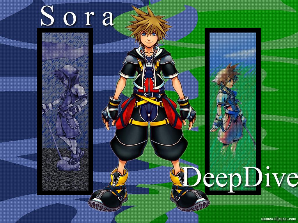 Kingdom Hearts 2 Game Wallpaper # 3