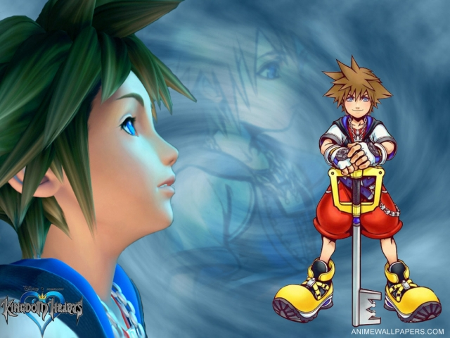 Kingdom Hearts Anime Wallpaper #2