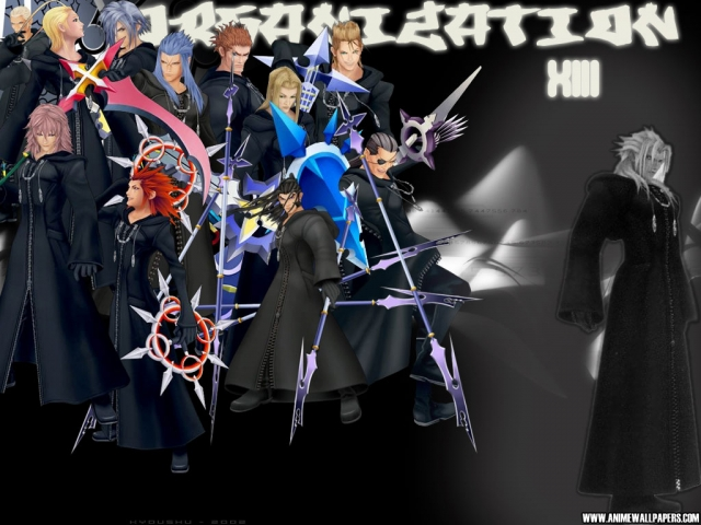 Kingdom Hearts Anime Wallpaper #5