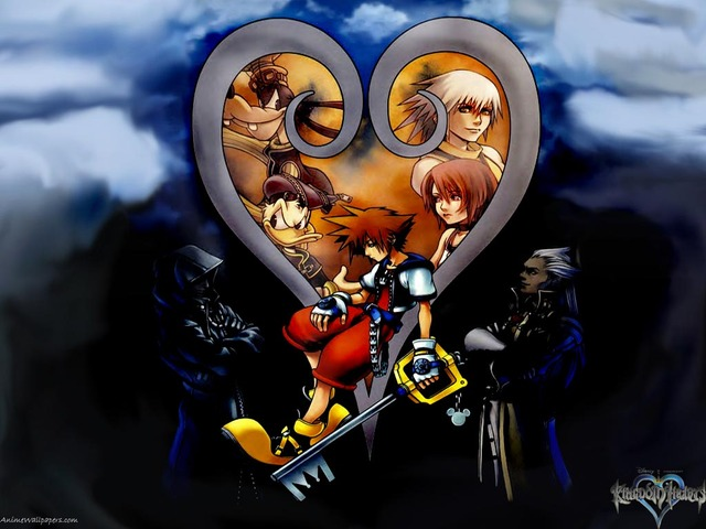 Kingdom Hearts Anime Wallpaper #7