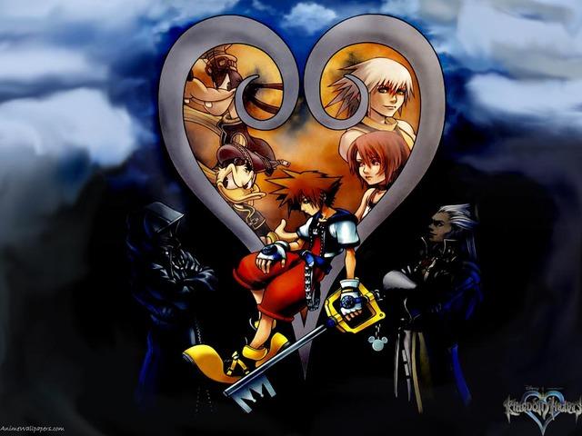 Kingdom Hearts Anime Wallpaper #7