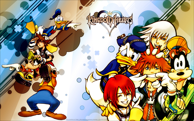 Kingdom Hearts Anime Wallpaper #9