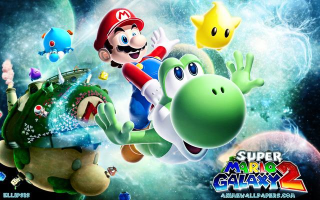 Super Mario Anime Wallpaper #2
