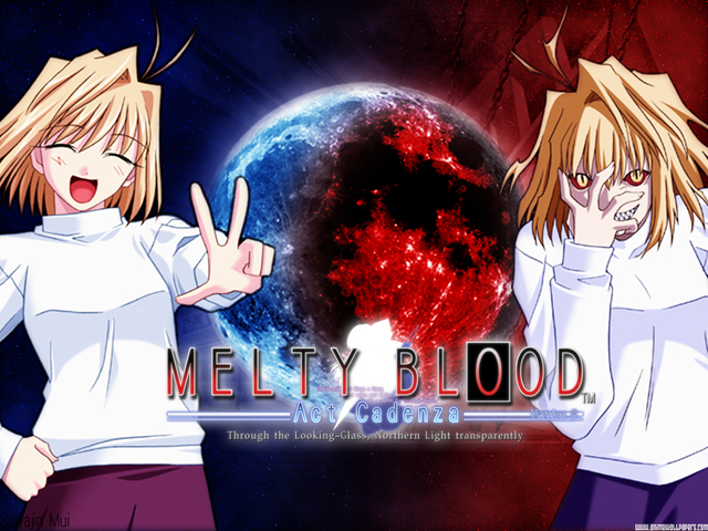 Melty Blood Anime Wallpaper #6