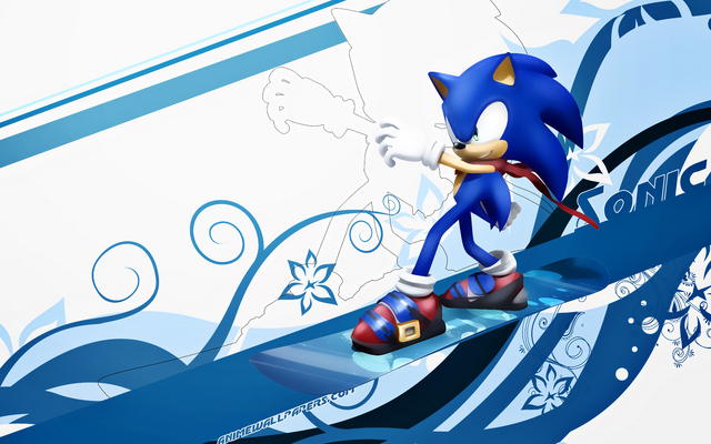 Sonic the Hedgehog Anime Wallpaper #1