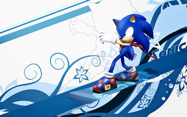 Sonic the Hedgehog Anime Wallpaper #1