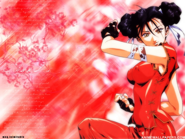 Street Fighter Anime Wallpaper #2