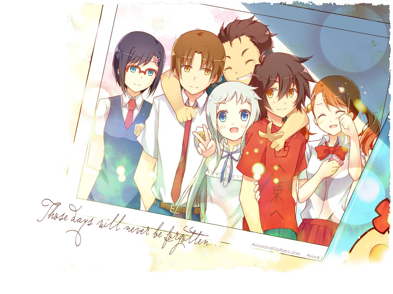 Ano Hana Anime Wallpaper # 1