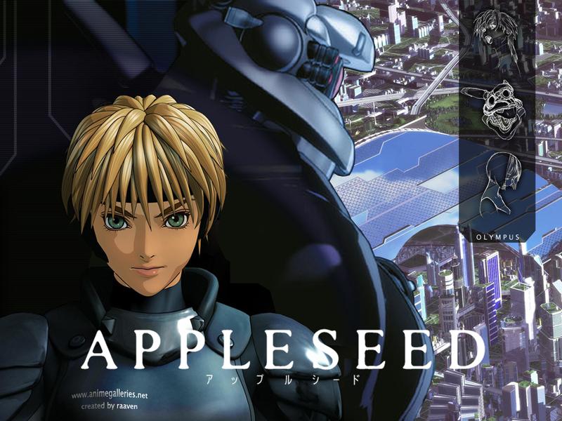 Appleseed Anime Wallpaper # 17
