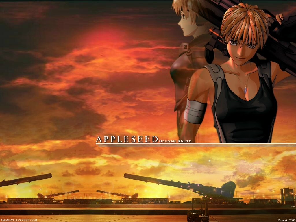 Appleseed Anime Wallpaper # 4