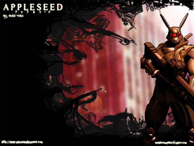Masamune Shirow - Appleseed by K-L-Designs on DeviantArt