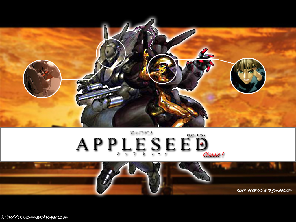 Appleseed Anime Wallpaper # 8