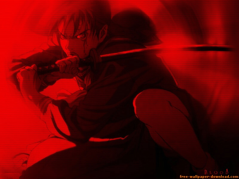 Blood Anime Wallpaper # 6