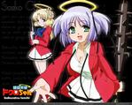 Bokusatsu Tenshi Dokuro-chan Anime Wallpaper # 1