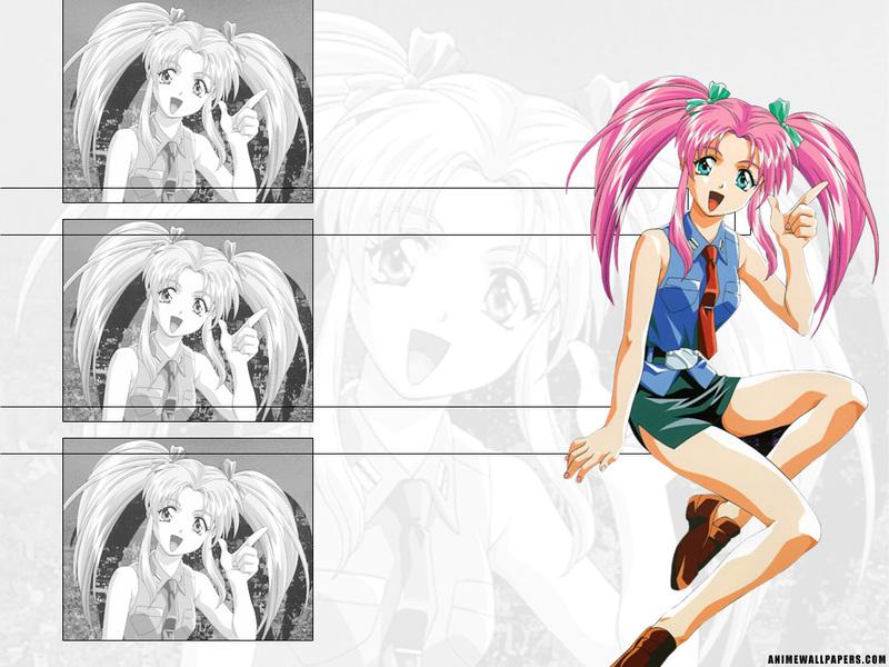 Burn Up W Anime Wallpaper # 4