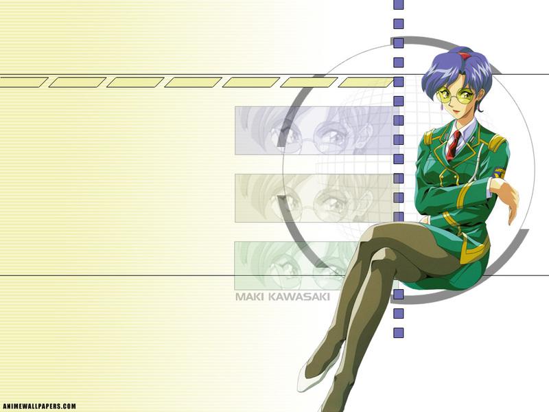 Burn Up W Anime Wallpaper # 6