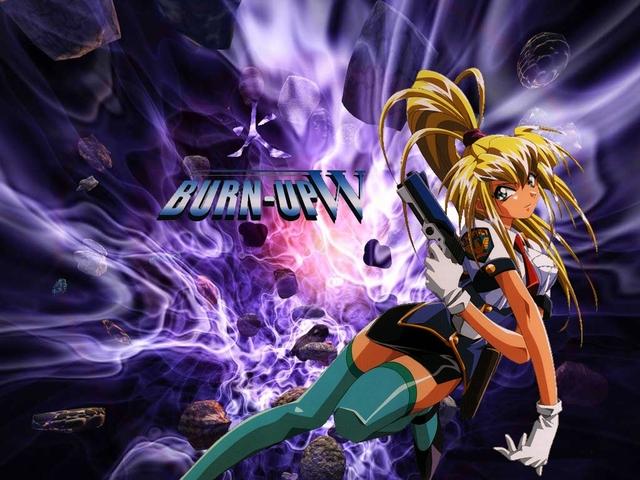 Burn Up W Anime Wallpaper #9