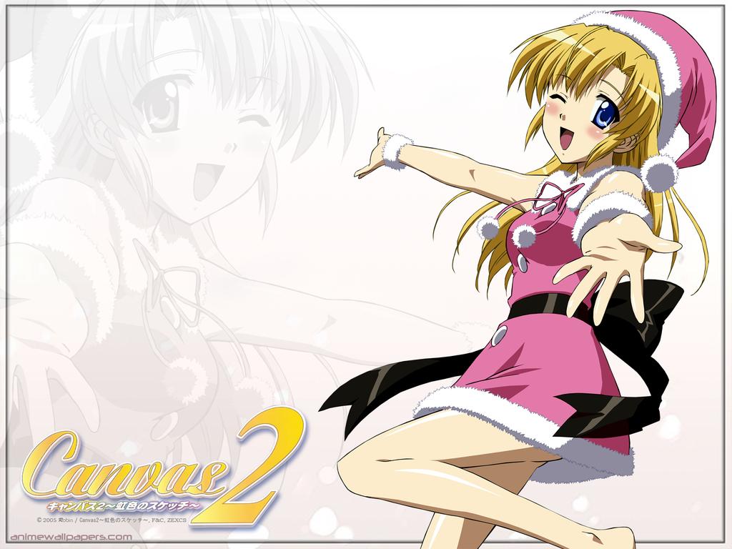 Canvas2 -Nijiiro no Sketch- Anime Wallpaper # 2