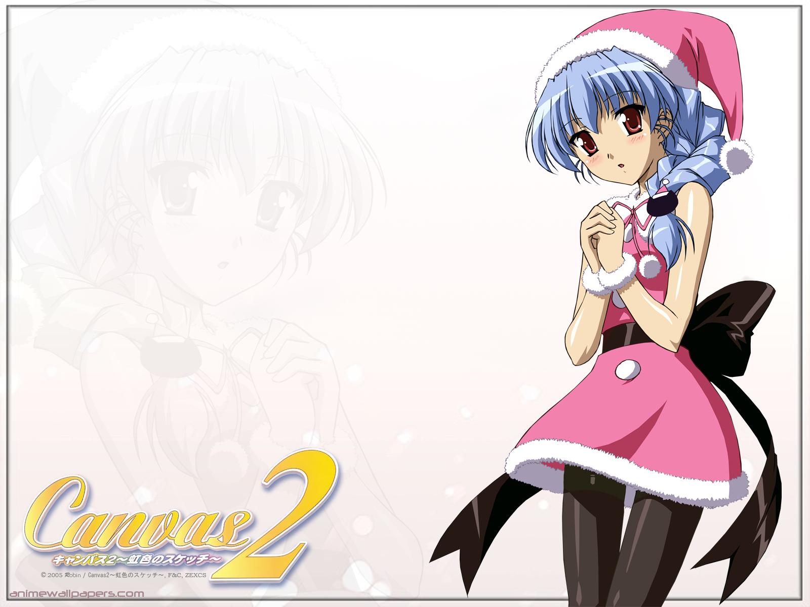 Canvas2 -Nijiiro no Sketch- Anime Wallpaper # 3