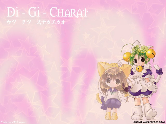 Digi Charat Anime Wallpaper #9