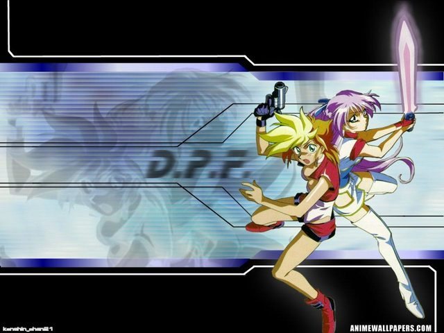 Dirty Pair Flash Anime Wallpaper #8